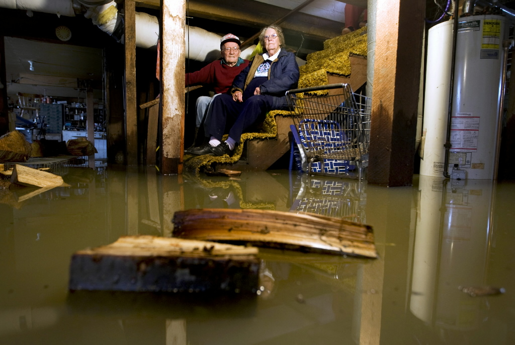 Naperville Flooded Basements